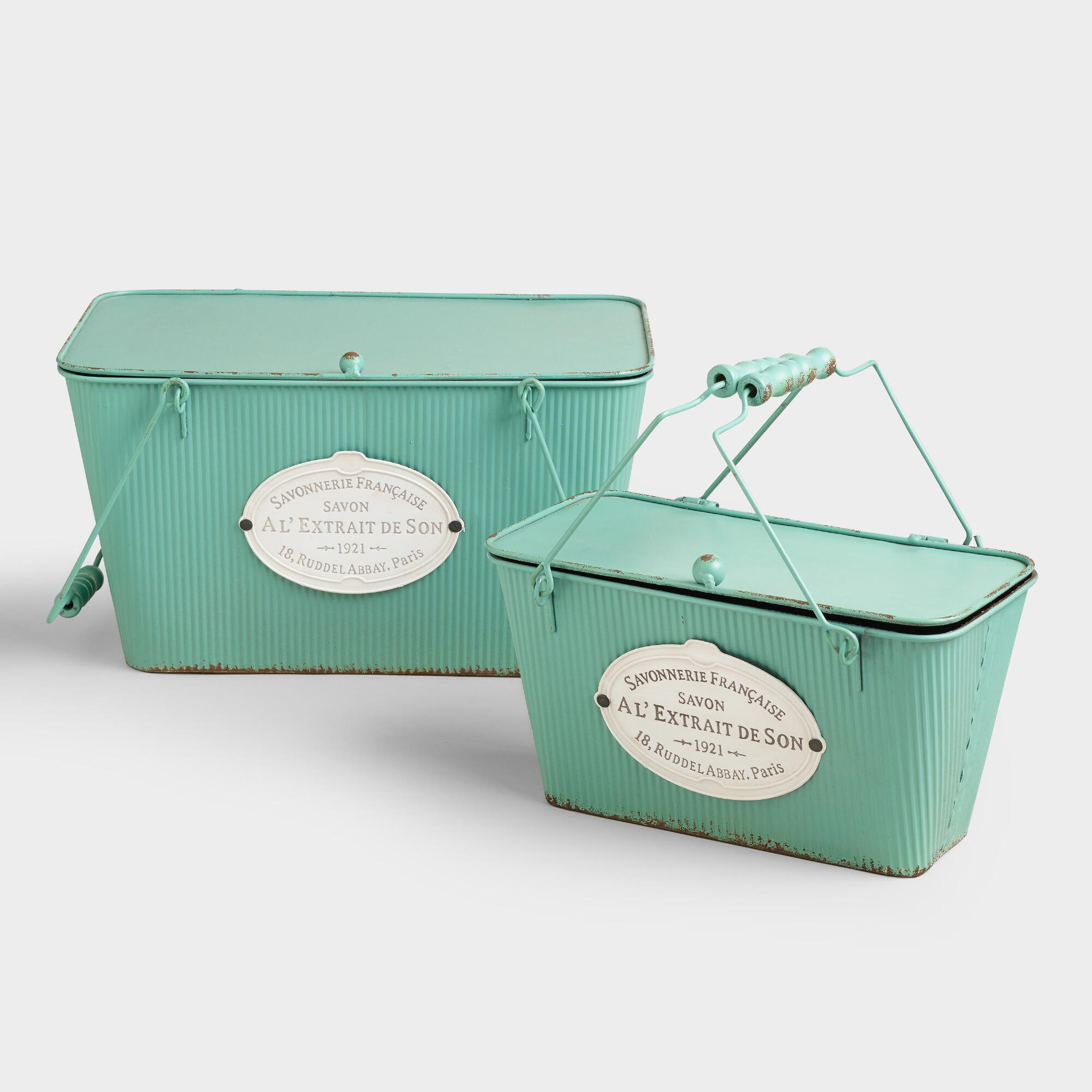 decorative for luxuries boxes two with shagreen faux decor lids appointed of home the house set well green