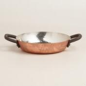 Mini Hammered Copper Karahi Cooking Pot