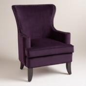 Caponata Purple Elliott Chair