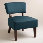 Azure Blue Lucas Chair