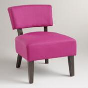 Fuchsia Lucas Chair