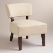 Rice Paper Beige Lucas Chair