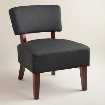 Gray-Black Lucas Chair