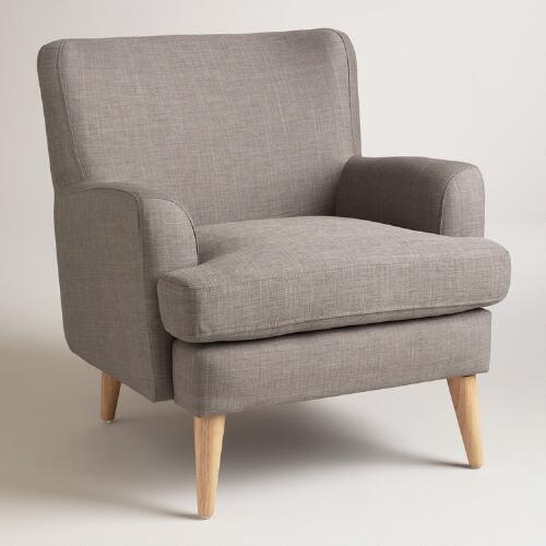 Dolphin Gray Blakely Chair