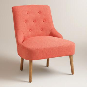 Orange Teaghan Chair