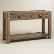 Wood Quade Console Table