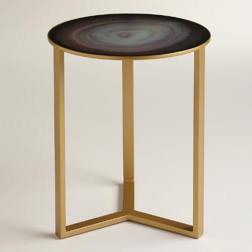 Quartz Harbin Accent Table