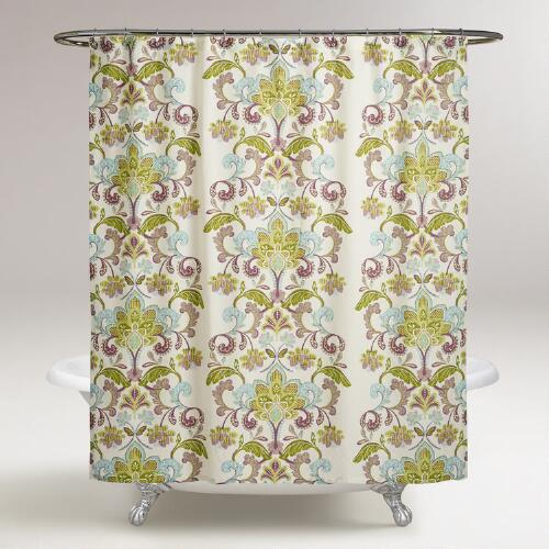 Baroque Samantha Shower Curtain