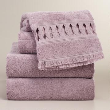 Lavender Catalina Towel Collection