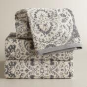 Vivienne Jacquard Towel Collection