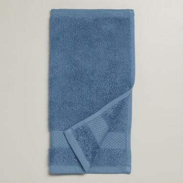 Mediterranean Blue Washcloth