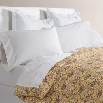 Maryam Amber Floral Duvet Cover