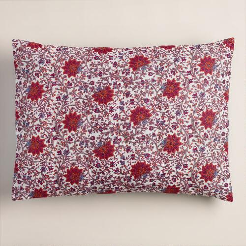 Floral Kareena Pillow Shams, Set of 2