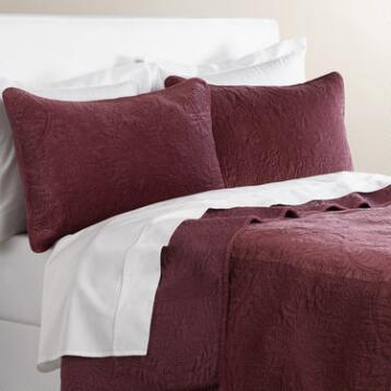 Plum Velvet Bedding Collection