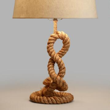 Rope Piper Table Lamp Base