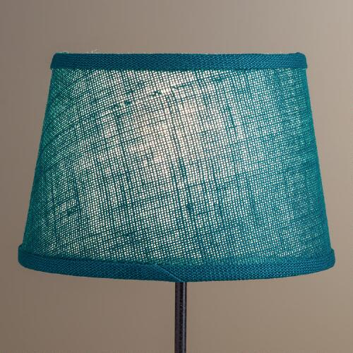 Everglade Burlap Accent Lamp Shade