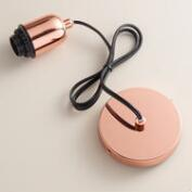 Copper Electrical Ceiling Hardwire Kit