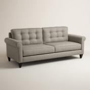 Textured Woven Bryson Upholstered Sofa