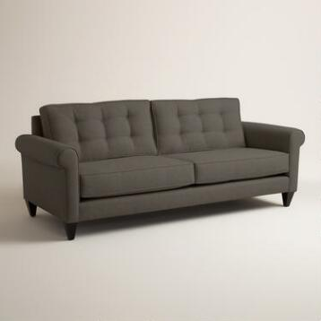 Chunky Woven Bryson Upholstered Sofa