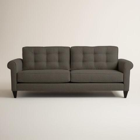 Chunky Woven Bryson Upholstered Sofa World Market
