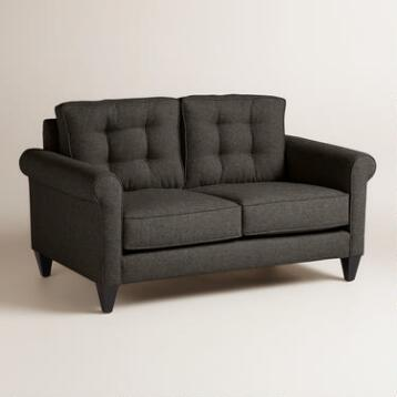Chunky Woven Bryson Upholstered Love Seat