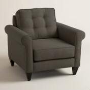Chunky Woven Bryson Upholstered Chair
