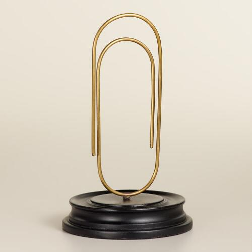 Paper Clip On Stand