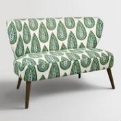 Kelly Green Bindi Kenway Upholstered Loveseat