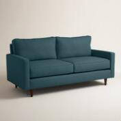 Textured Woven Nashton Upholstered Sofa