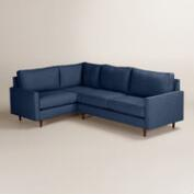 Chunky Woven Nashton Right-Facing Upholstered Sectional