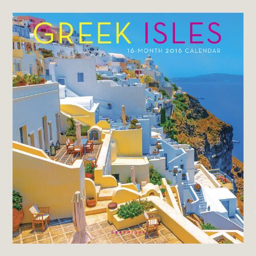 Greek Isles Wall Calendar