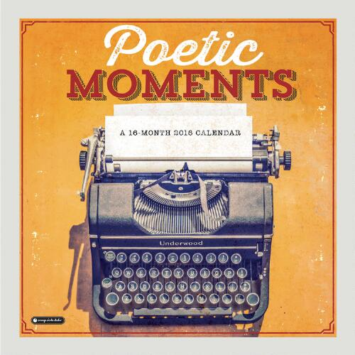 Poetic Moments Wall Calendar
