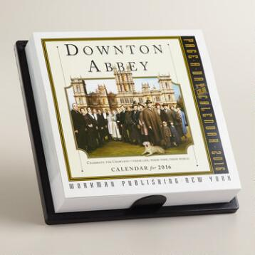 Downton Abbey Page-A-Day Calendar