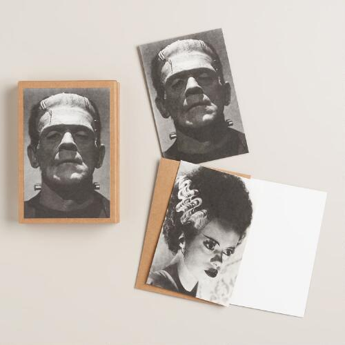 Frankenstein Notecards, Set of 16