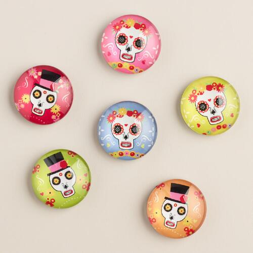 Day of the Dead Magnets, Set of 6