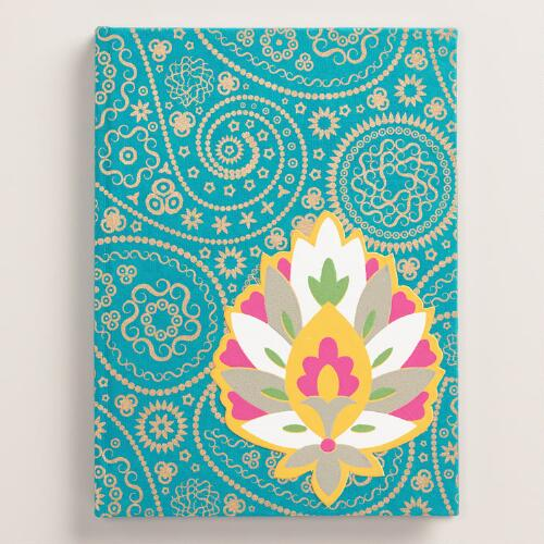 Handmade Lotus Journal