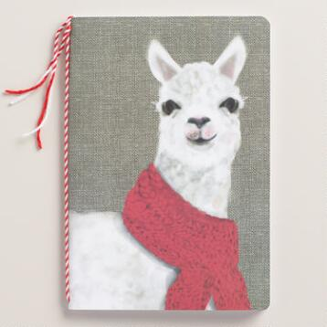 Alpaca Kraft Journal