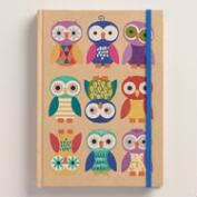 Birthday Owls Kraft Journal