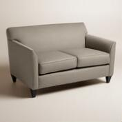 Textured Woven Stellan Upholstered Love Seat