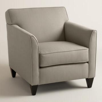 Textured Woven Stellan Upholstered Chair