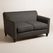 Chunky Woven Stellan Upholstered Love Seat