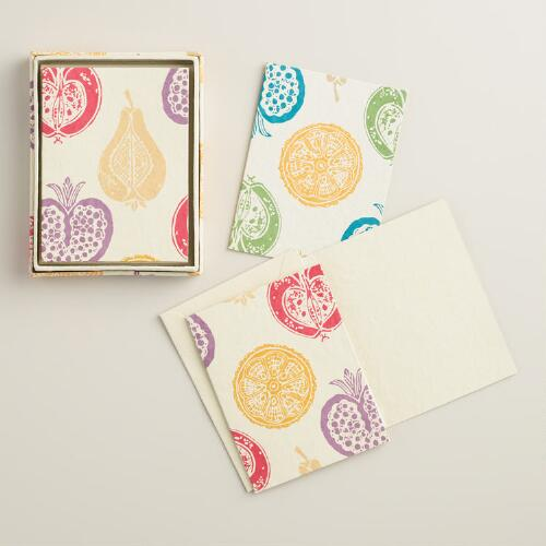 Harvest Boxed Handmade Notecards, Set of 8