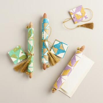 Origami Handmade Love Note Scrolls, Set of 3