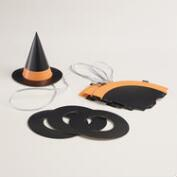 Paper Witch Hats, Set of 4