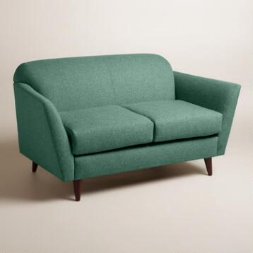 Chunky Woven Jorna Upholstered Love Seat