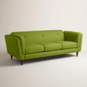 Textured Woven Reza Upholstered Sofa