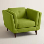 Textured Woven Reza Upholstered Chair