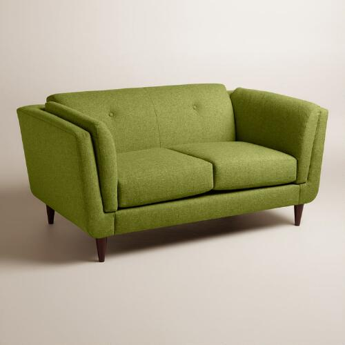 Chunky Woven Reza Upholstered Love Seat