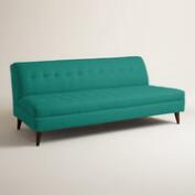 Textured Woven Florian Upholstered Sofa