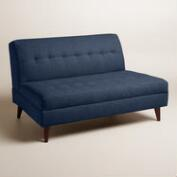 Chunky Woven Florian Upholstered Love Seat